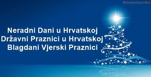 Praznici u Hrvatskoj Neradni dani 2019 2020 2021